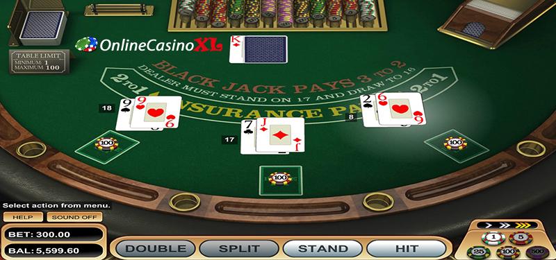 Blackjack spelen in een online casino
