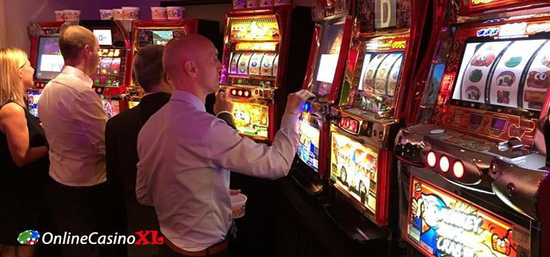 Spelen op gokkasten