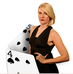 Blackjack live spelen dealer