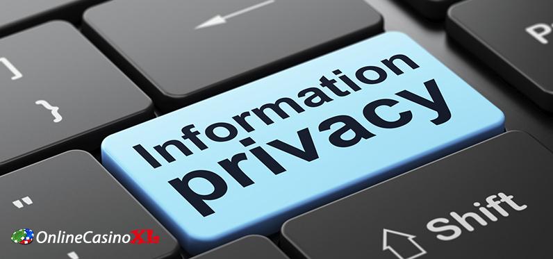 Privacy bij een online casino