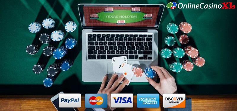 Geld storten bij een online casino