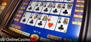 Video poker uitleg