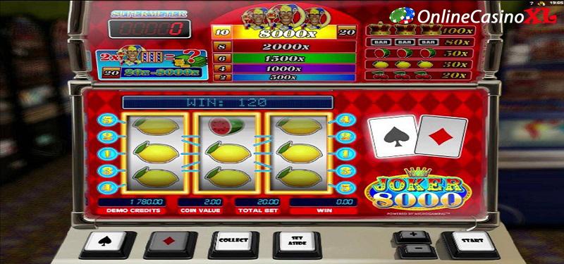 Winnen op gokkasten