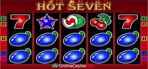 Hot Seven bonus Turbo Casino
