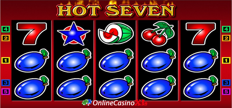 Hot Seven bonus Turbo Casino
