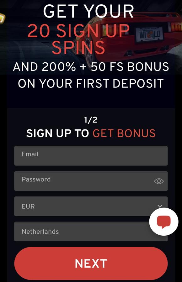 N1 Casino bonus op mobiel