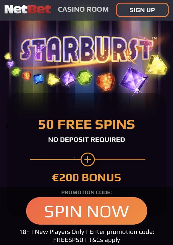 NetBet Casino bonus op mobiel