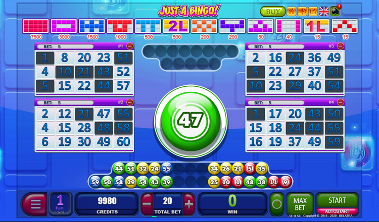 Online bingo gokkast