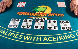 caribbean stud poker review logo