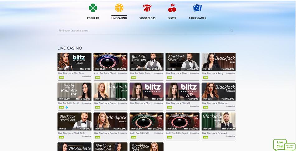 turbo live casino