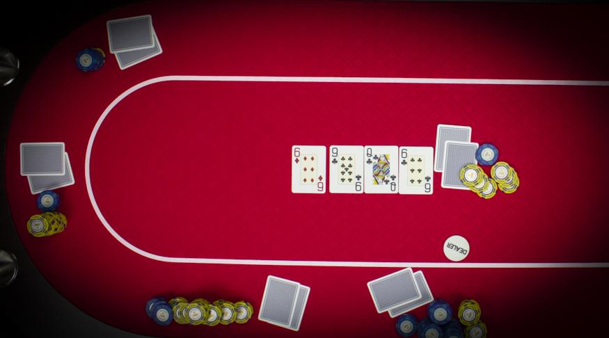 Hoe speel je texas hold'em poker stap 3